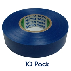 Insulation Tape 20mm x 19mm BLUE 10 PK