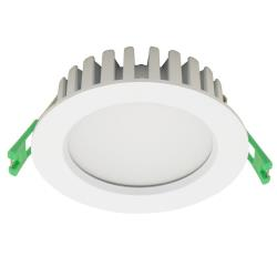 Barcelona 13W LED Fixed Down Light 90° - Warm White 3000K, Dimmable - 7 year Warranty