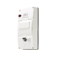 IP66 RCD Cover with Neon, Chemical Resistant White