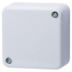 Voltex Standard Junction Box with connectors - 70 x 70 x 35mm