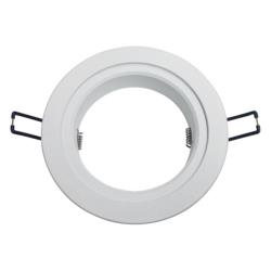 Adaptor Flange, White, 110-130mm (Suits Barcelona and Le Mans LED Downlight)