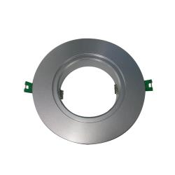 Adaptor Flange, Silver, 110-160mm (Suits Barcelona LED Downlight)