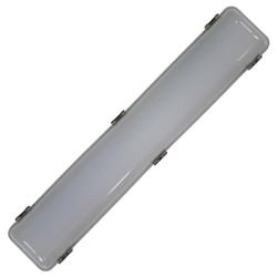 Voltex LED 24W Weatherproof IP66 Batten - 600mm - 5000K