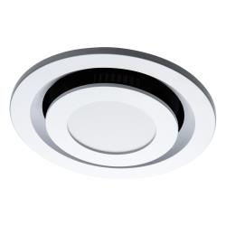 Voltex 250mm Round Ceiling Exhaust Fan with 13W LED Light - Dual Colour - Flush Mounted