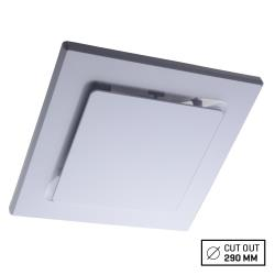 Voltex White Side Ducted Square Ceiling Exhaust Fan