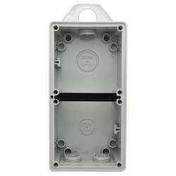 Voltex Metal Pendant Bracket for Switched Socket Outlet - Stainless Steel