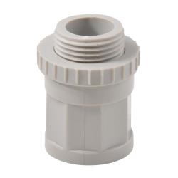 Screw Adaptor 20mm With Lock Ring PK50