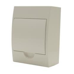 Switchboard Surface Mounting 6 Way - White Door