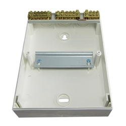 Switchboard, Surface Mounting, 6 way