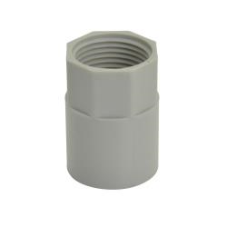 Screwed Coupling Grey 25mm - 50 Pack